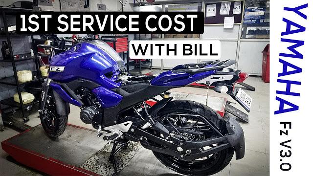 Yamaha Fz v3 Service and maintance cost
