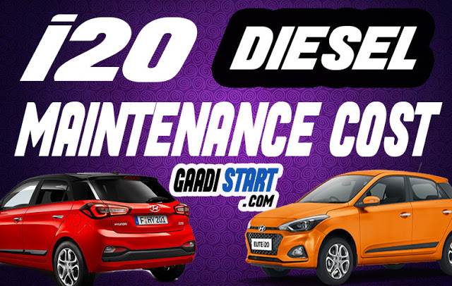 Hyundai i20 Diesel maintenance