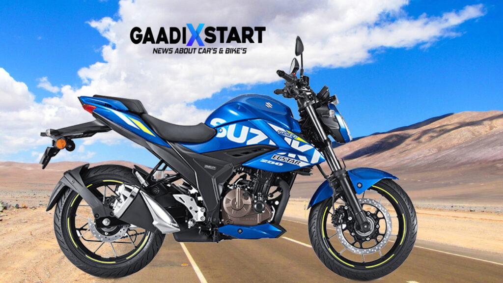Suzuki Gixxer 250 BS6