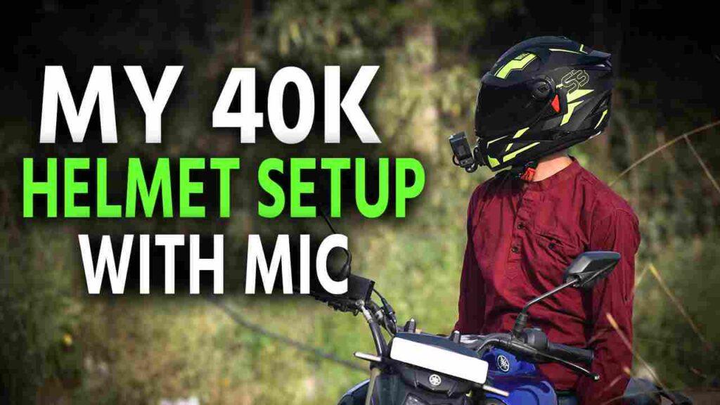 Gopro Hero 8 Motovlog Helmet Setup