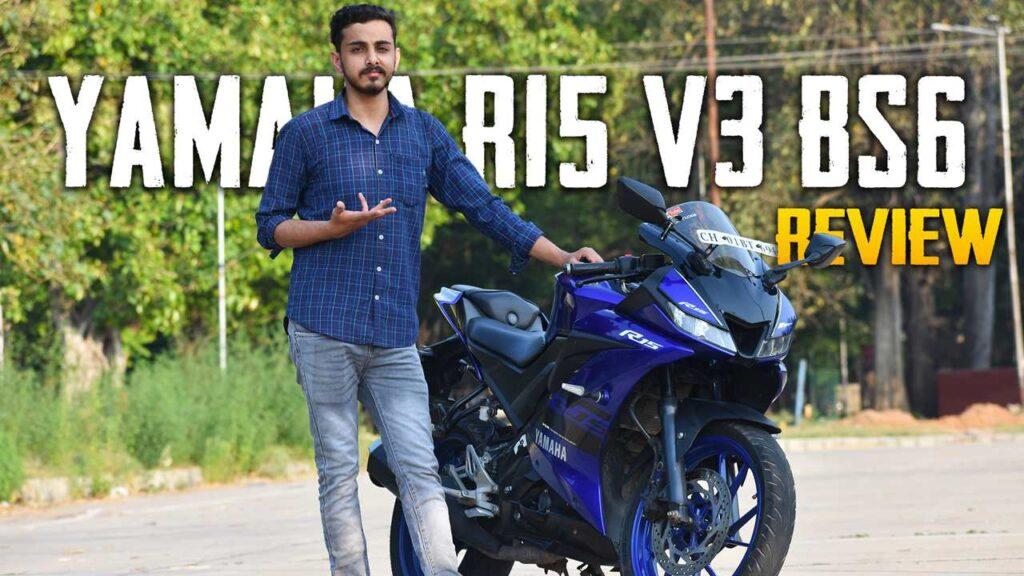 R15 V3 BS6 BLUE images